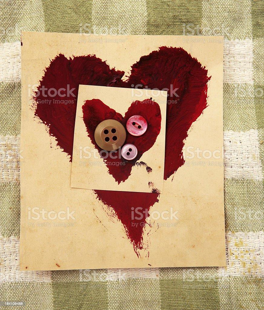 Heart within royalty-free stock photo