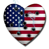 USA Heart Wounded