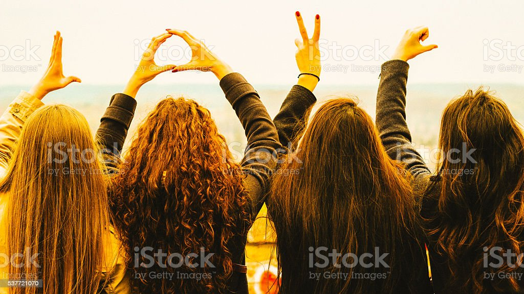 I heart you stock photo