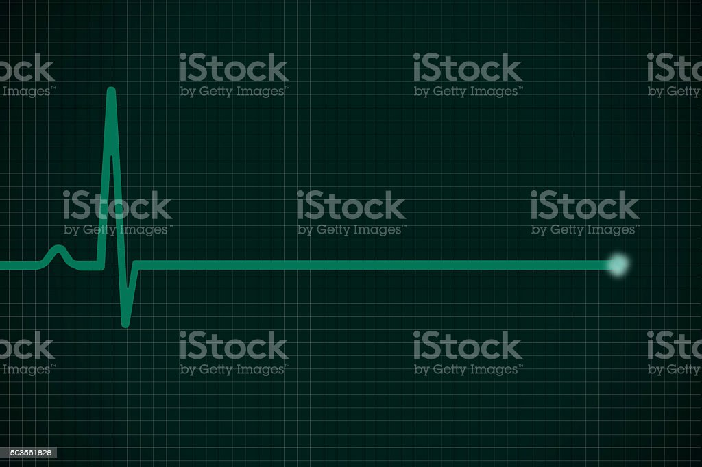 Heartbeat Pulsating stock photo