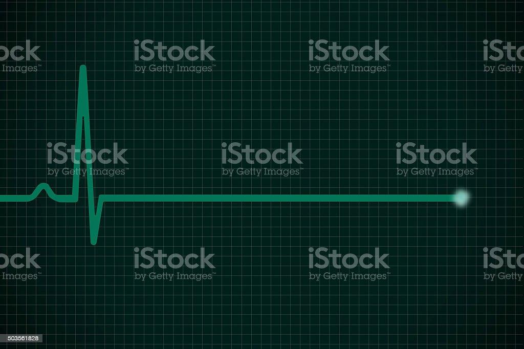 Heartbeat Pulsating stock photo