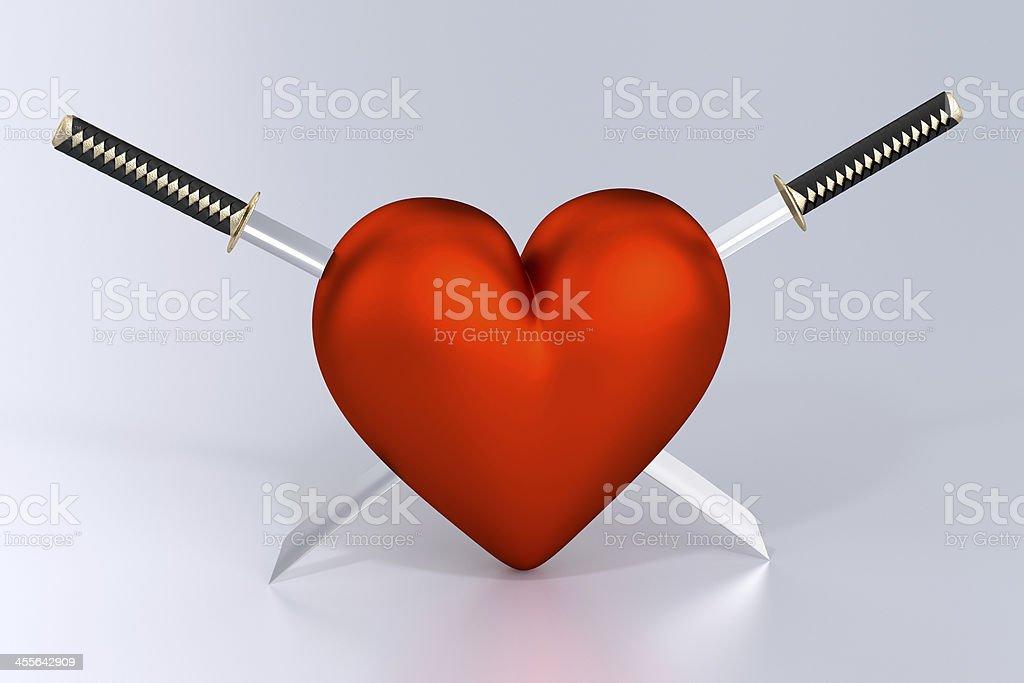 Heartbreak stock photo