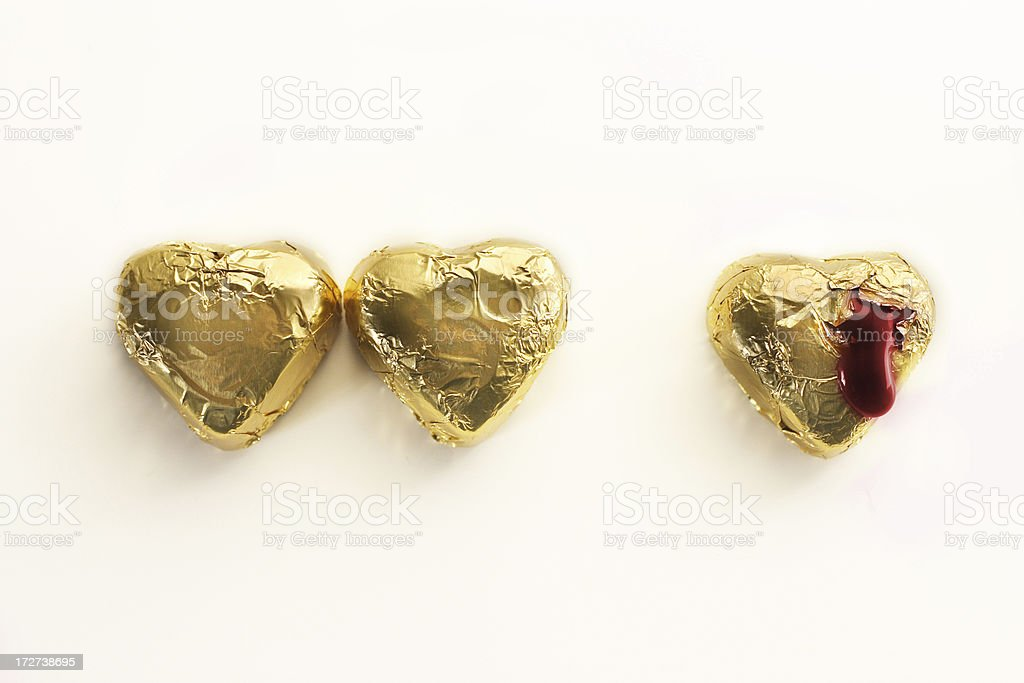 Heartbroken and alone stock photo