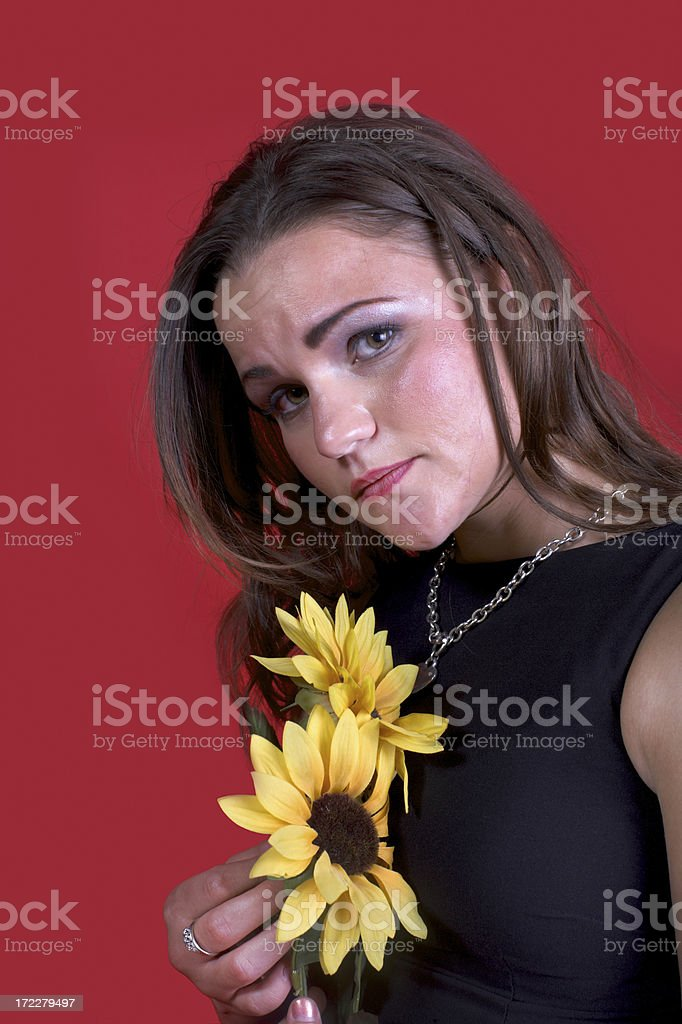 Heartbroken royalty-free stock photo