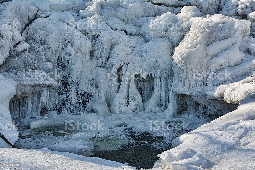 Heartfelt Ice stock photo