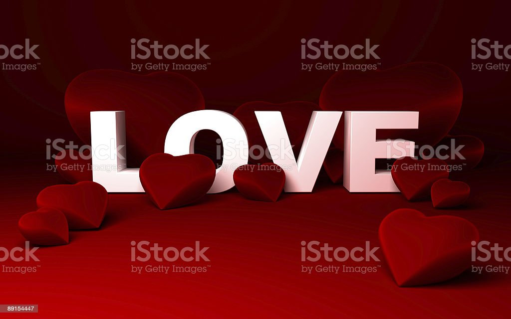 hearts and love royalty-free stock photo