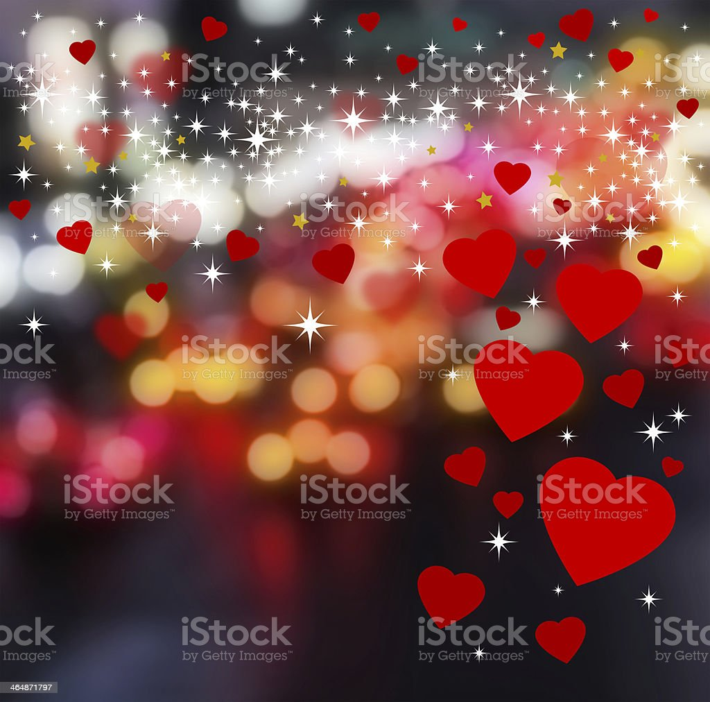 Hearts background design royalty-free stock photo