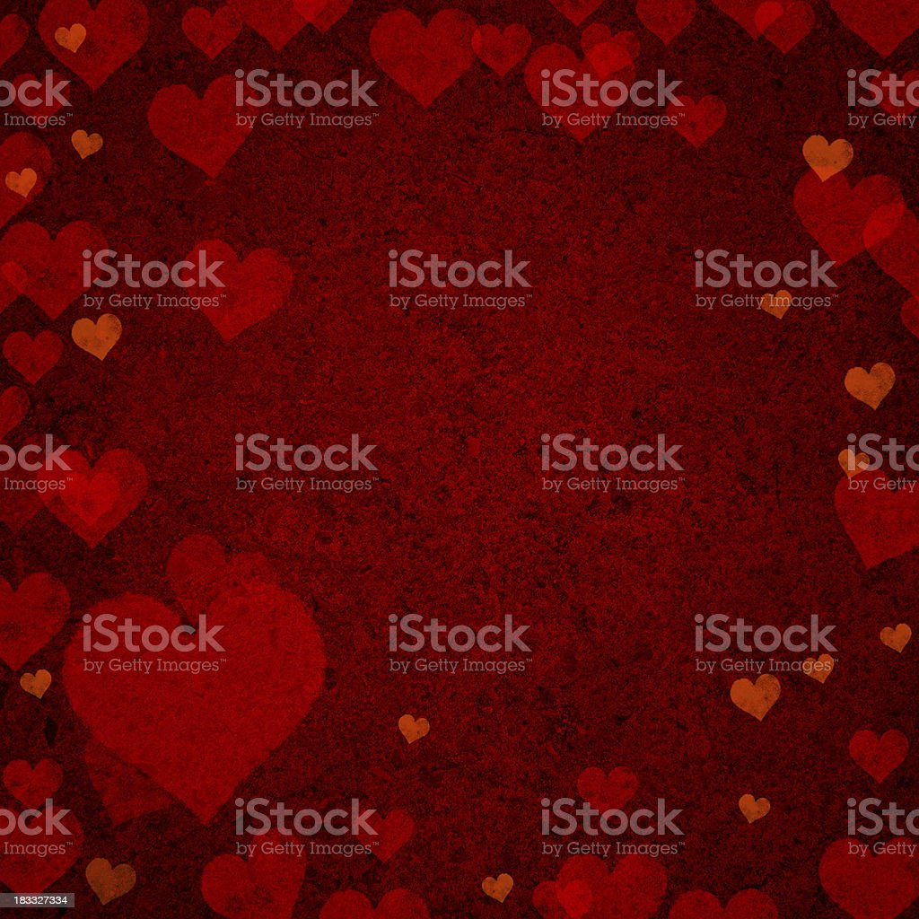 Hearts Background royalty-free stock photo