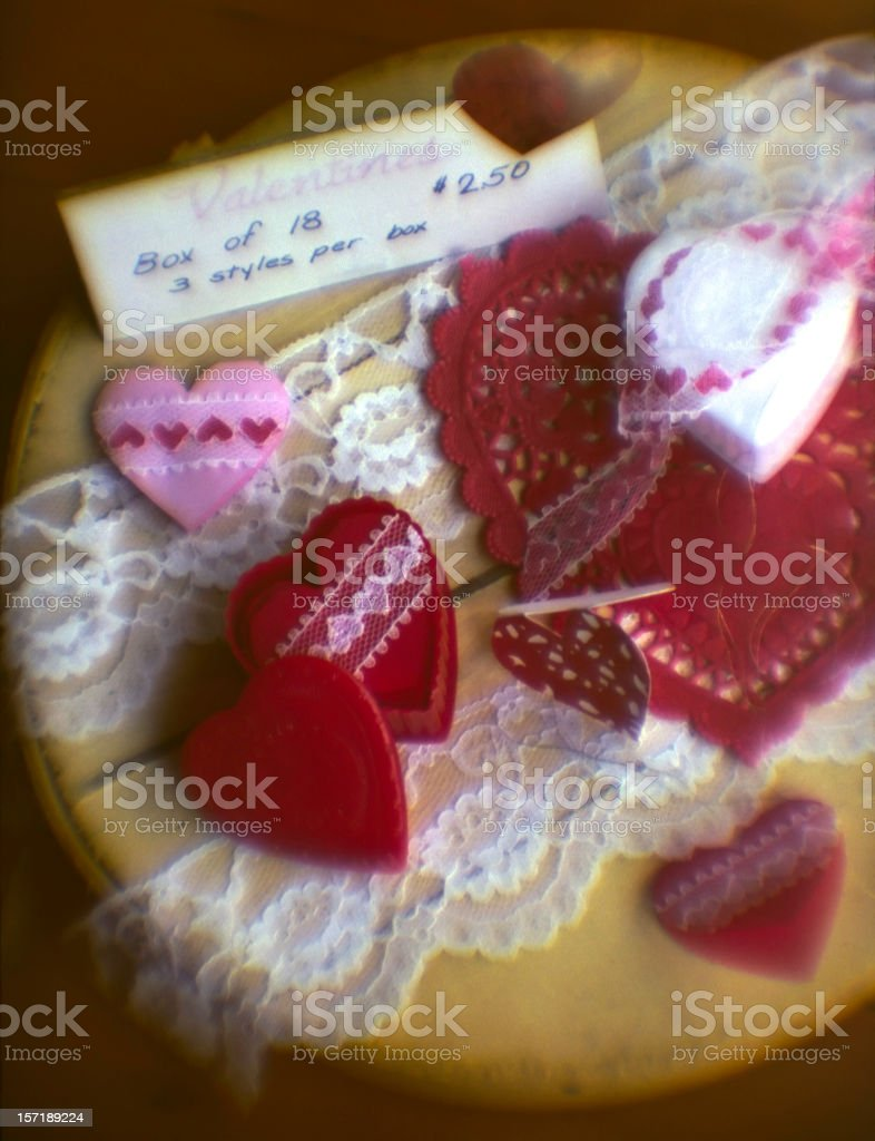 Hearts for Sale royalty-free stock photo