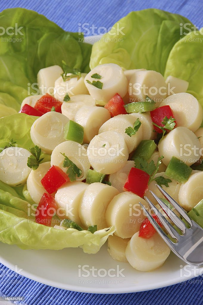Hearts of Palm Salad stock photo