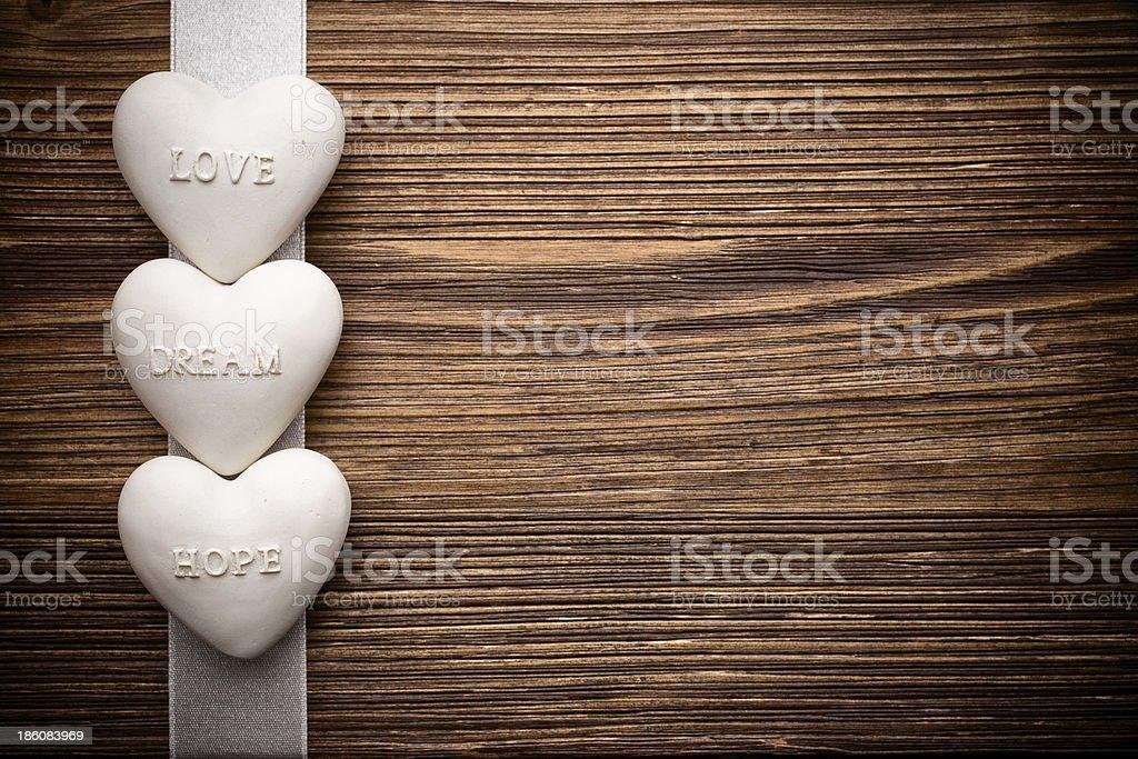 Hearts. royalty-free stock photo