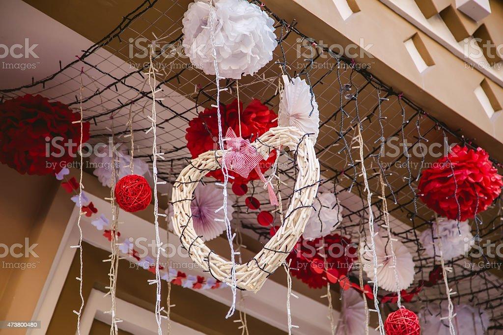 Hearts, valentines day love stock photo