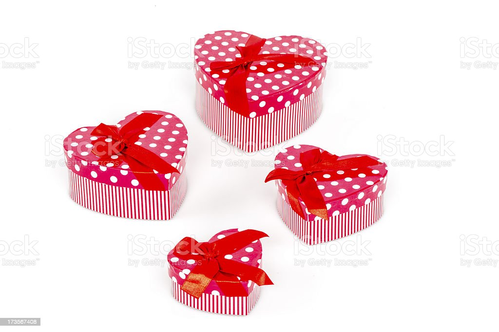 Heart-shaped Box royalty-free stock photo