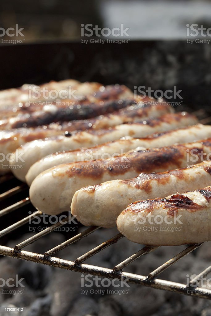 z?nftige grillparty stock photo