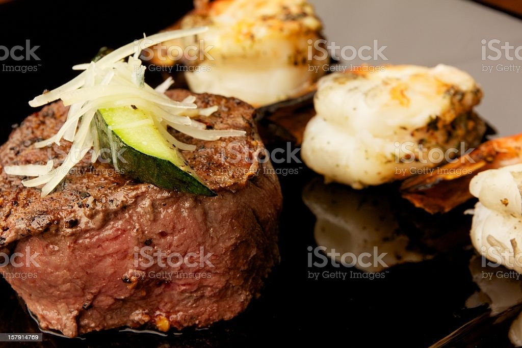 Hearty Beef Filet royalty-free stock photo