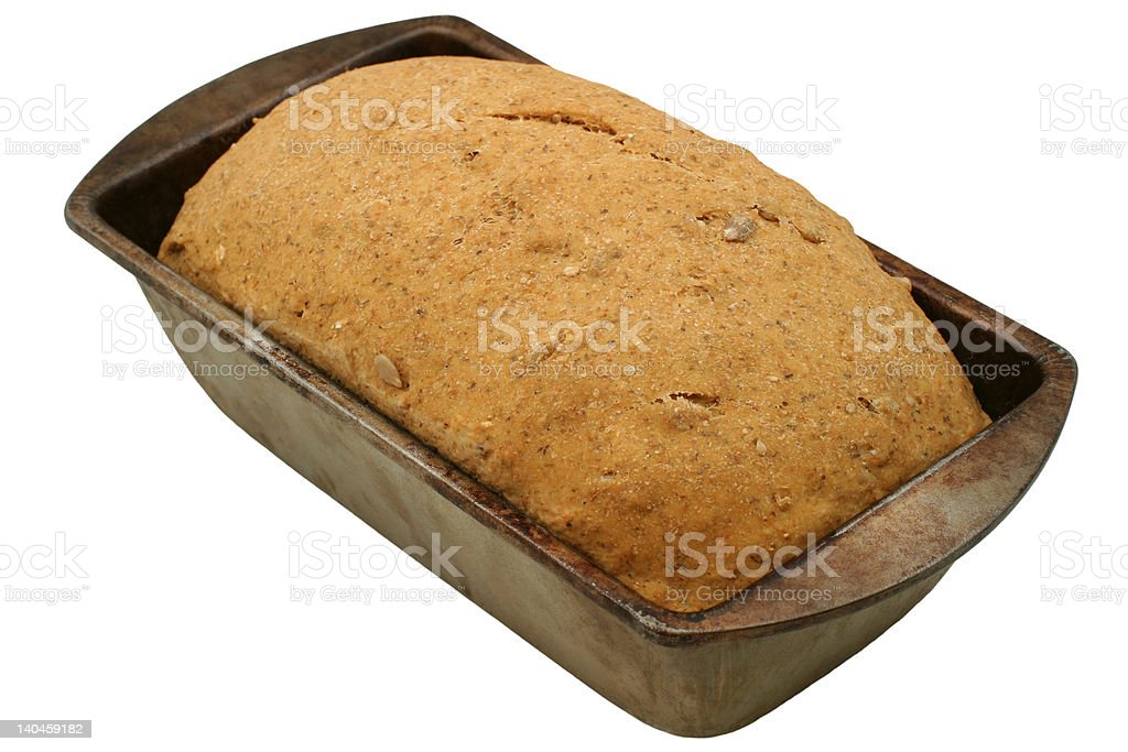 Hearty Bread Rising - close-up royalty-free stock photo