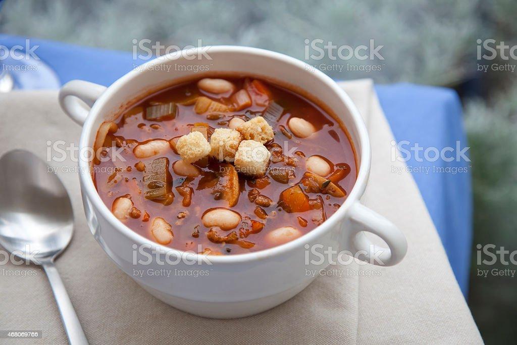 Hearty Soup stock photo