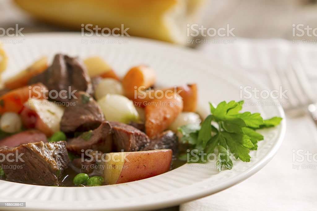 Hearty Stew royalty-free stock photo
