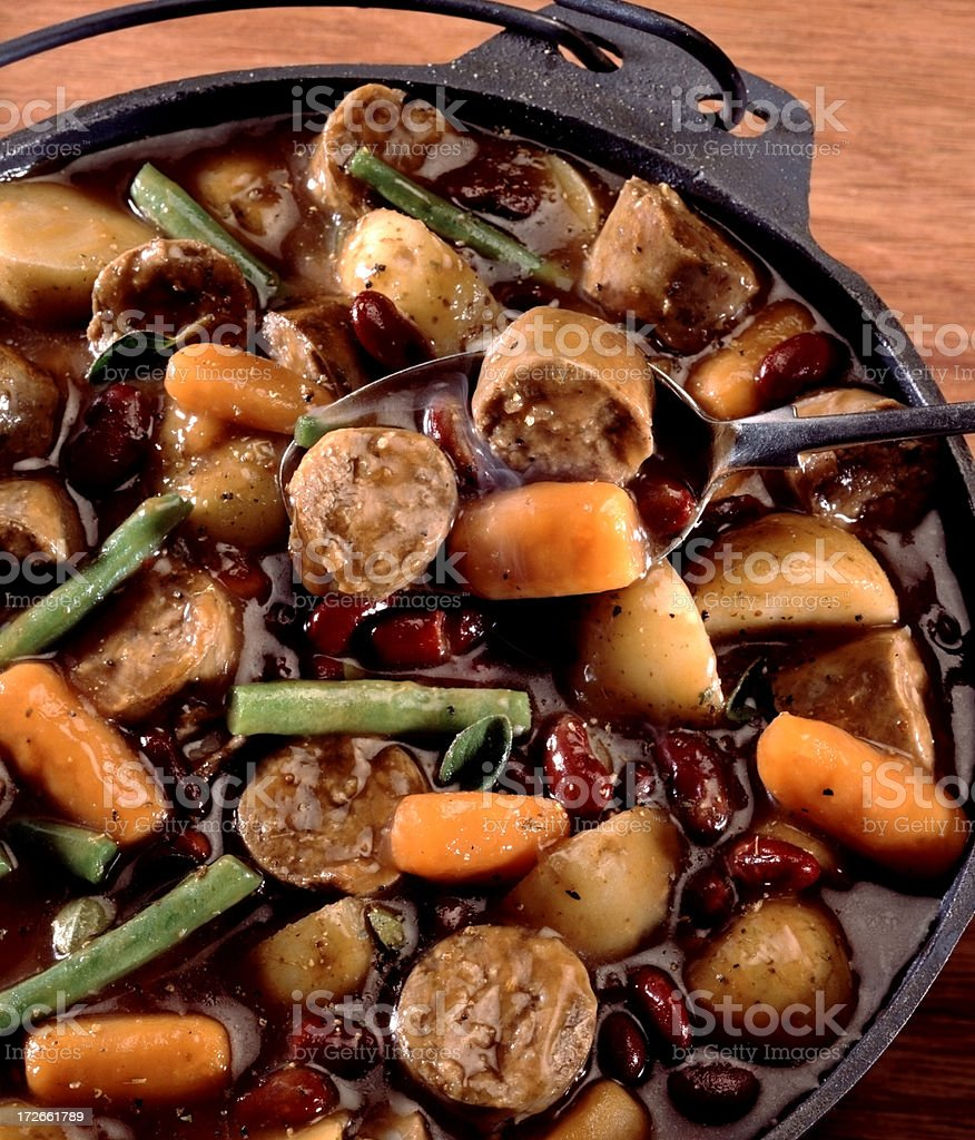 Hearty Stew stock photo