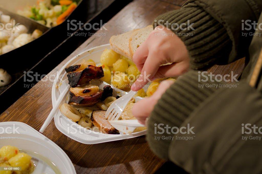 Hearty Street Food stock photo