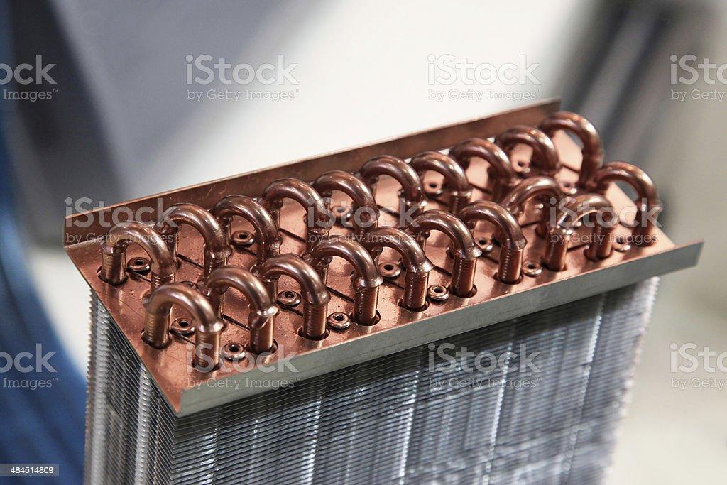 Heat Exchanger stock photo