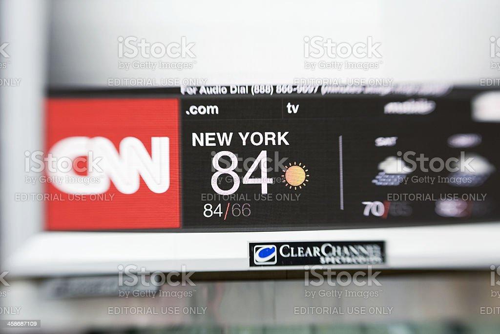 Heat in new york stock photo