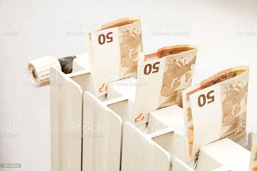 heat radiator stock photo