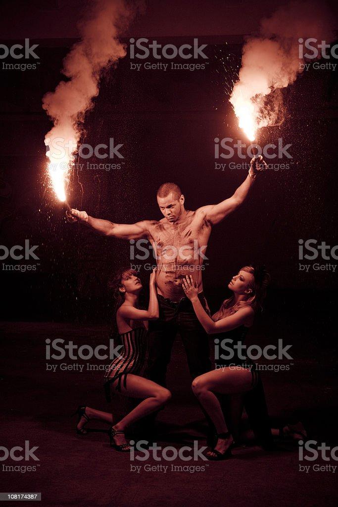 Heat - Seductive Tribe Series V royalty-free stock photo