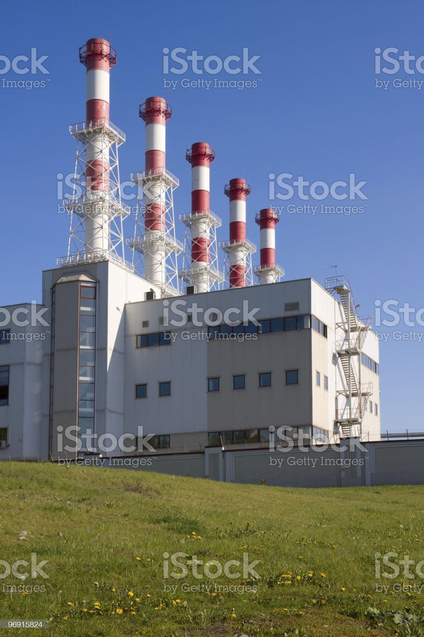Heat station royalty-free stock photo