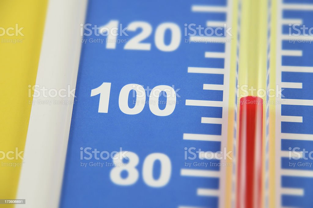 Heat Wave (Farenheit) stock photo