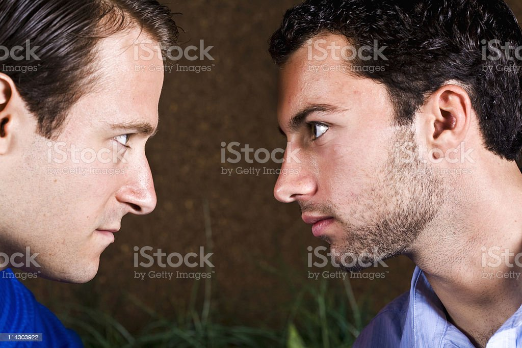 Heated Argument royalty-free stock photo