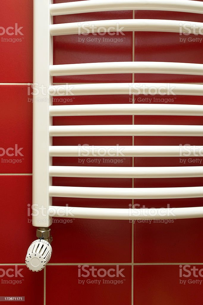 Heater with thermostat royalty-free stock photo