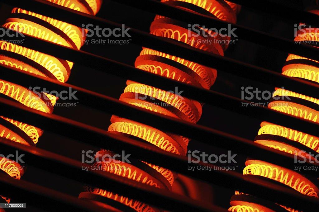 heaters stock photo