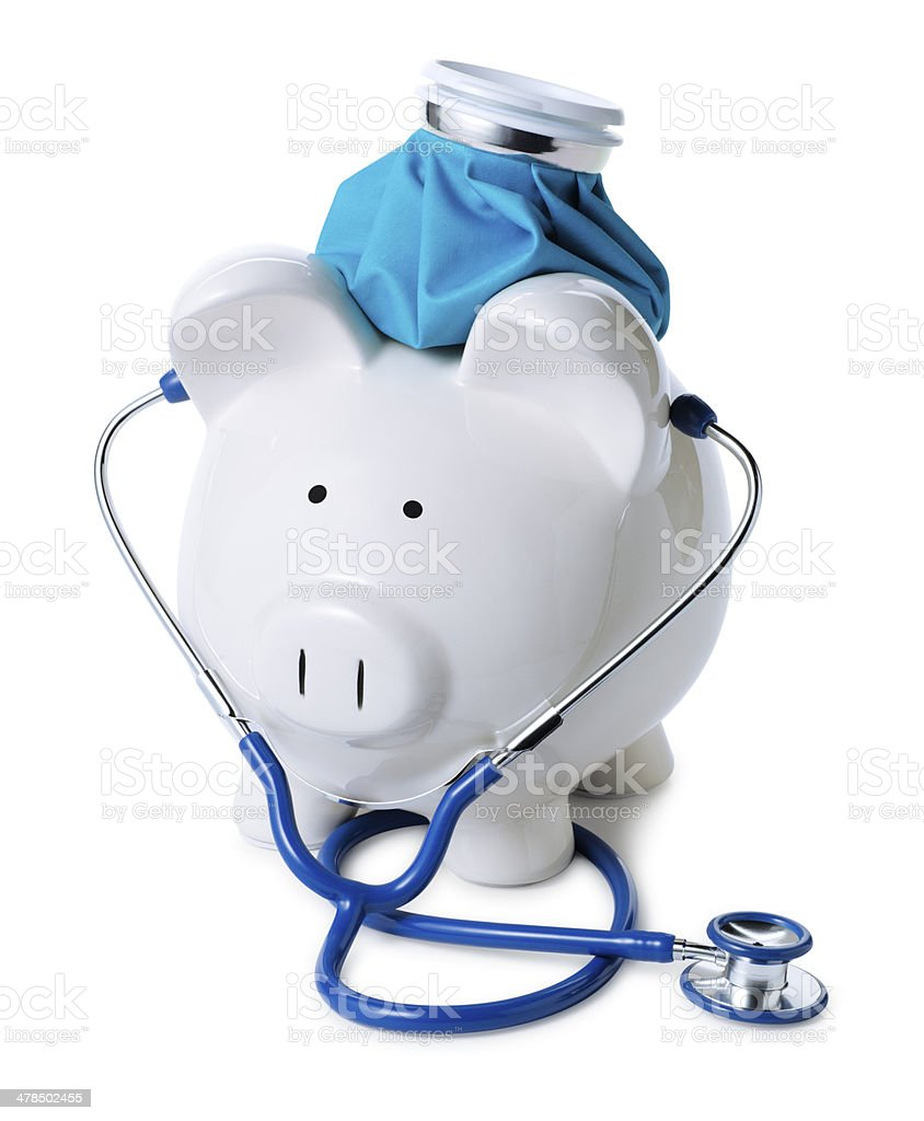 Heath Care and Medical Expenses royalty-free stock photo