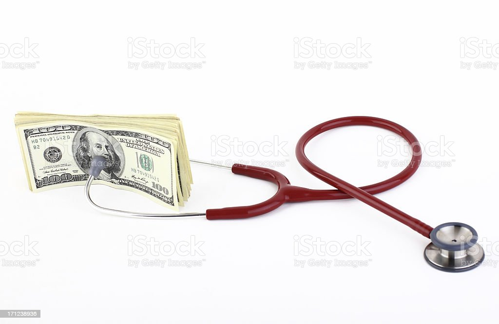 Heathcare expenses royalty-free stock photo