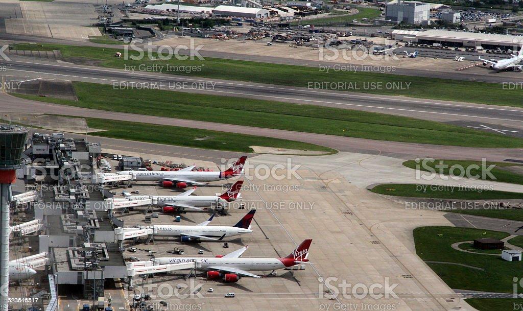 Heathrow stock photo