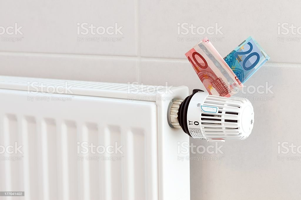 Heating coasts royalty-free stock photo