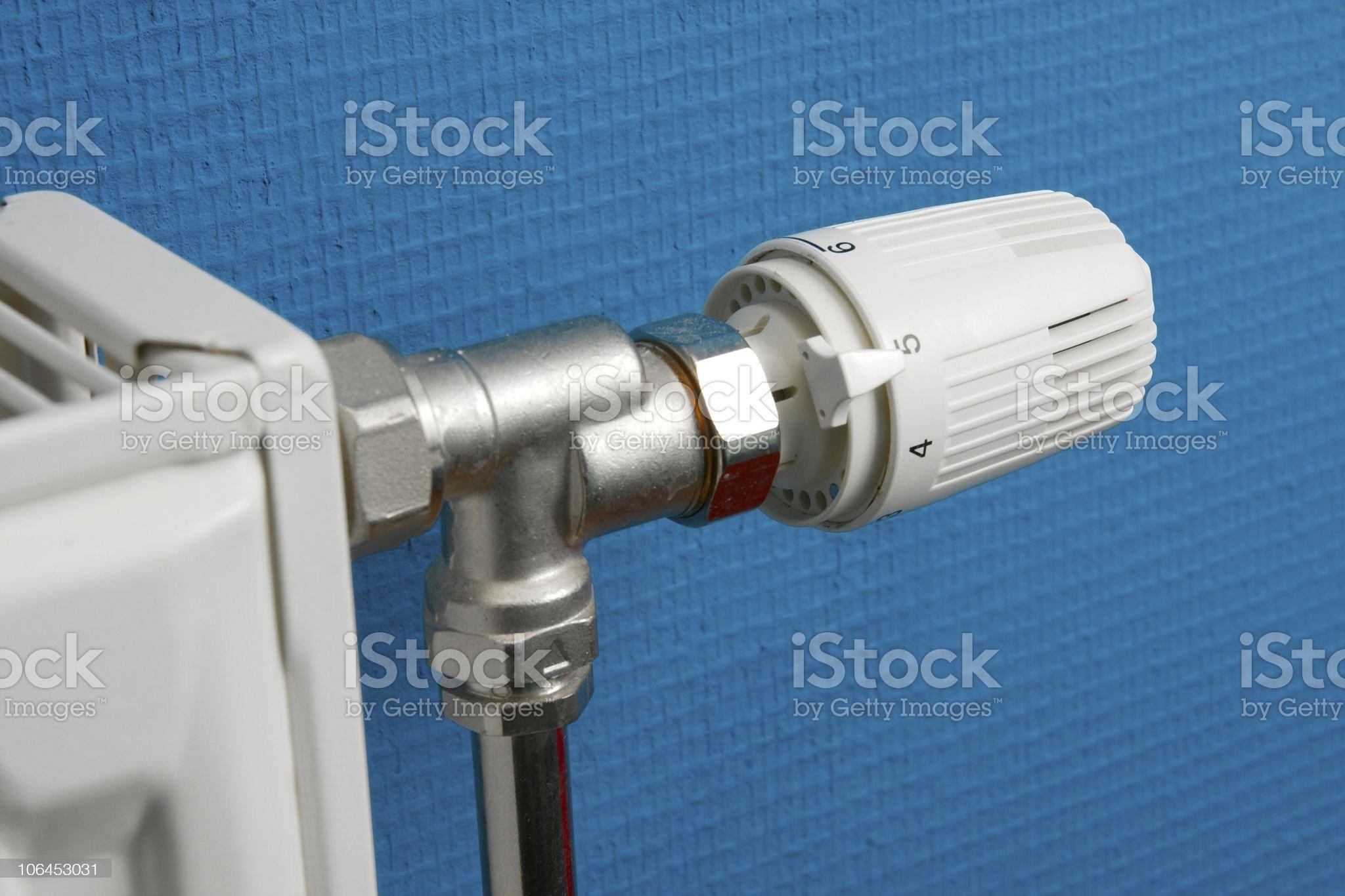 Heating royalty-free stock photo