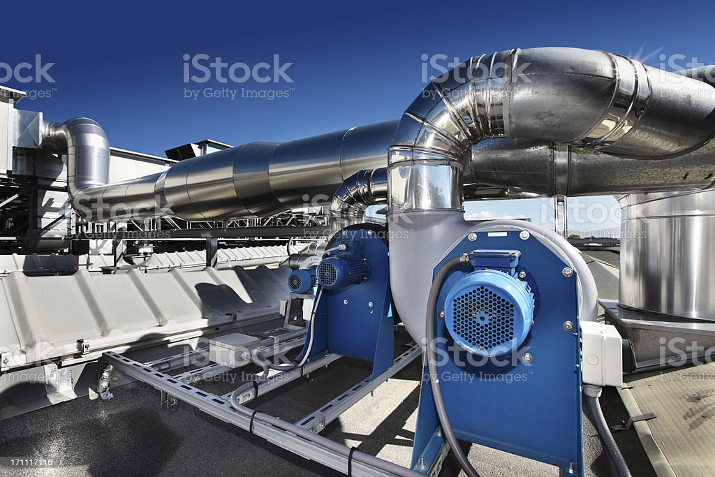 Heating system. royalty-free stock photo