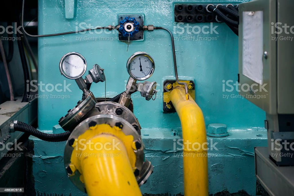 heating system stock photo
