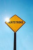 Heatstroke warning
