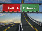 Heaven and Hell signs