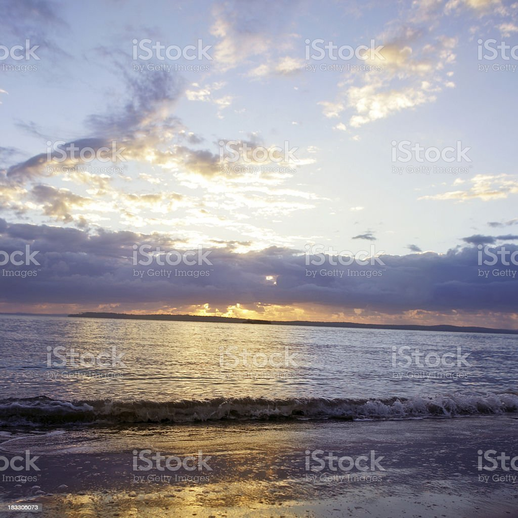Heaven in the Dawn royalty-free stock photo