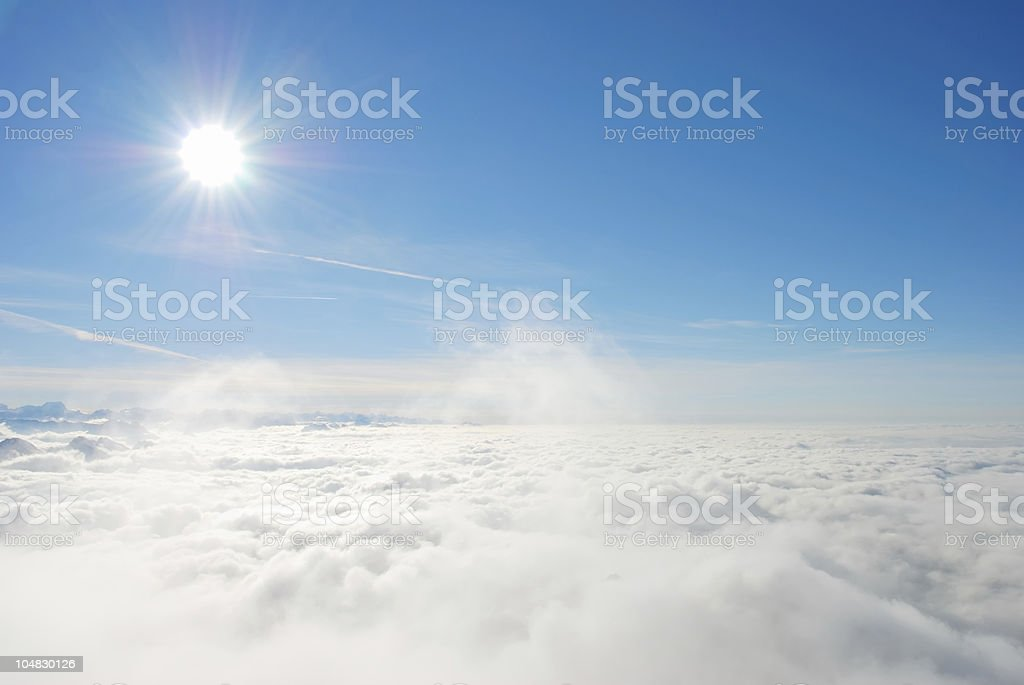Heaven must be close royalty-free stock photo