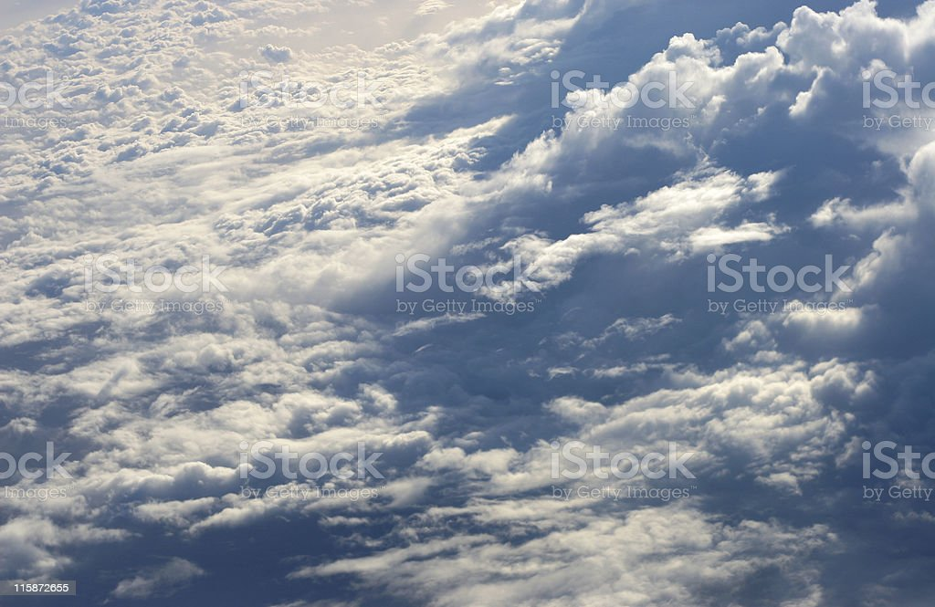 heavenly clouds royalty-free stock photo