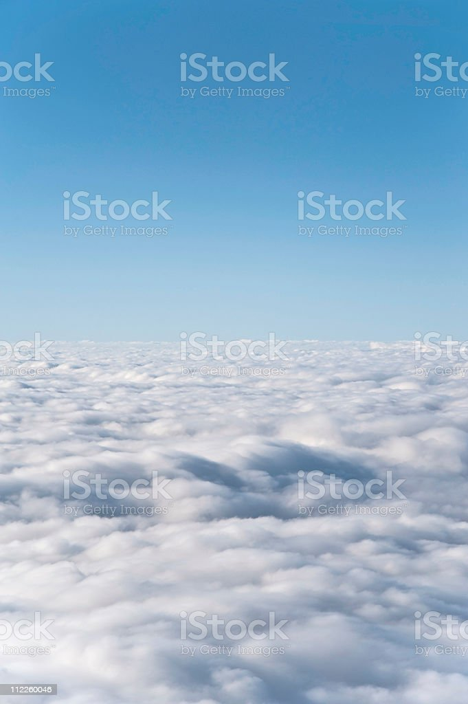 Heavenly cloudscape royalty-free stock photo