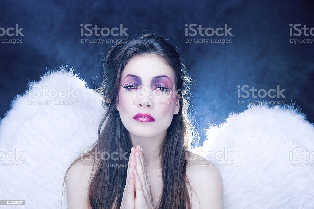 Heavenly creature royalty-free stock photo
