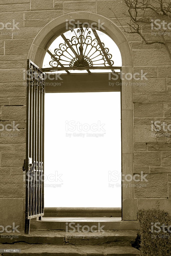 Heavenly Gate stock photo