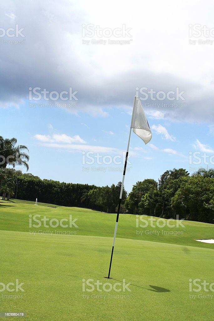 Heavenly Golf royalty-free stock photo