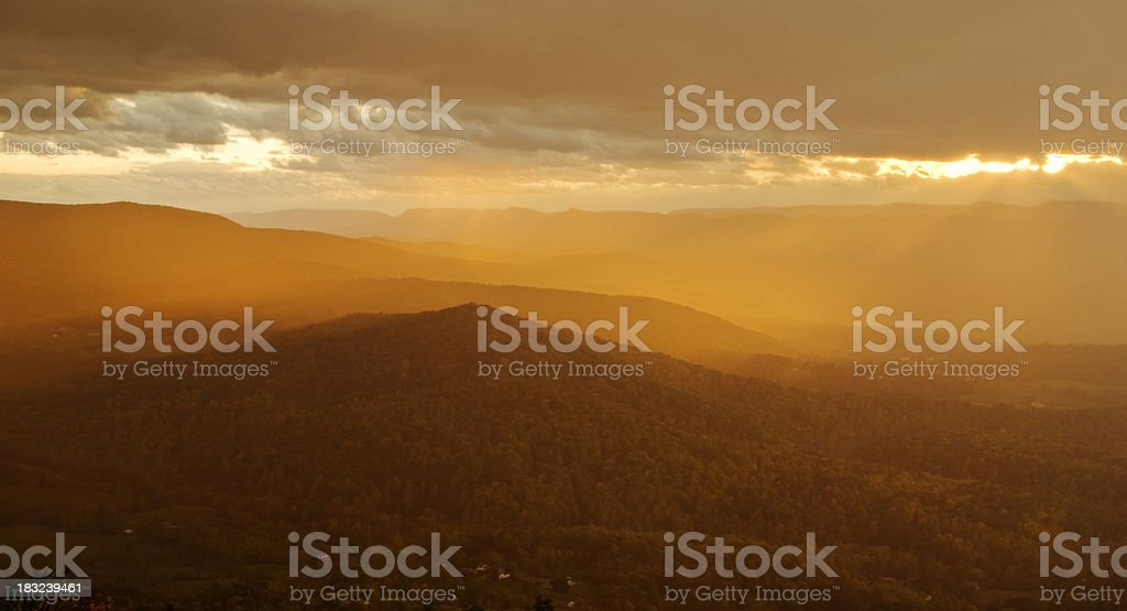 Heavenly light royalty-free stock photo